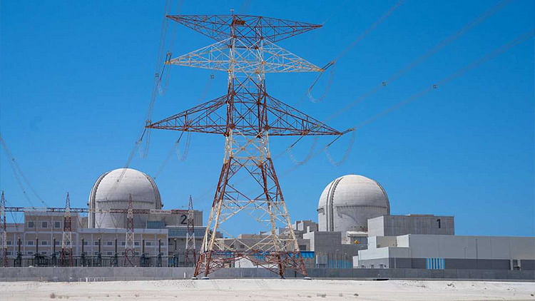 Barakah Nuclear Energy Plant Unit 2 delivers carbon-free electricity to UAE's transmission grid