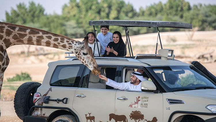 Al Ain Zoo reopens doors for daytime visits as temperatures fall