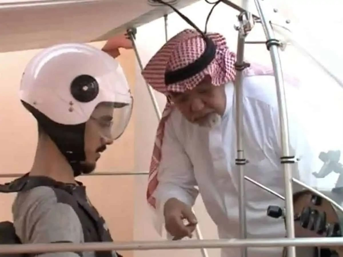 Saudi Arabia: Father builds plane to fulfil his son's pilot ambitions