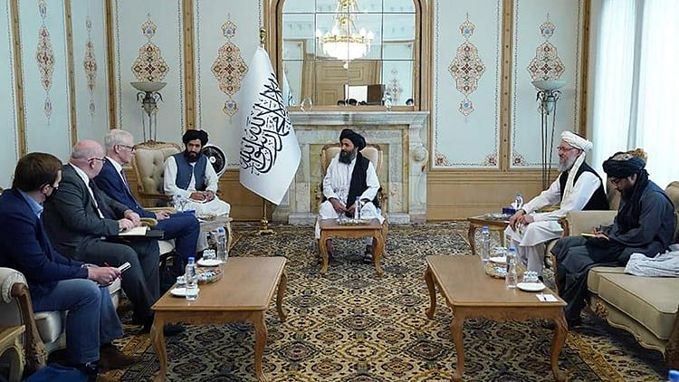 Taliban meet with UK, Iran delegations, seek to break isolation