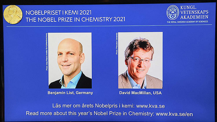 Duo who created tools to build molecules win Nobel Chemistry Prize