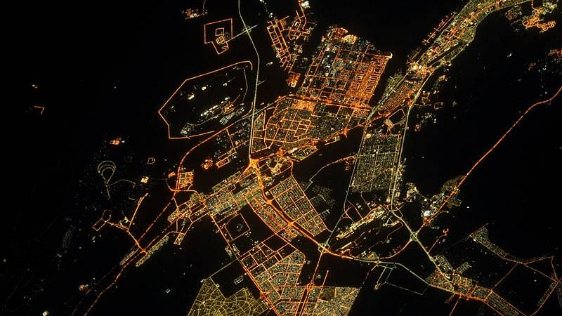 French astronaut captures stunning night images of Abu Dhabi from high above!
