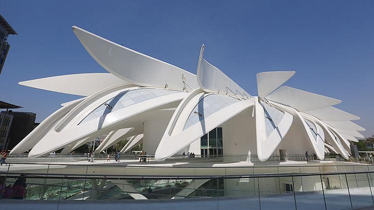 The UAE pavilion, where heritage meets future