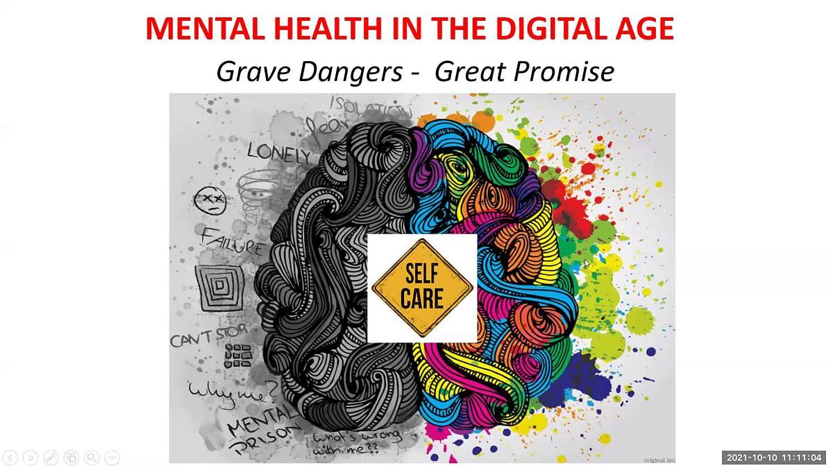 Bhavans IES Observes World Mental Health Day