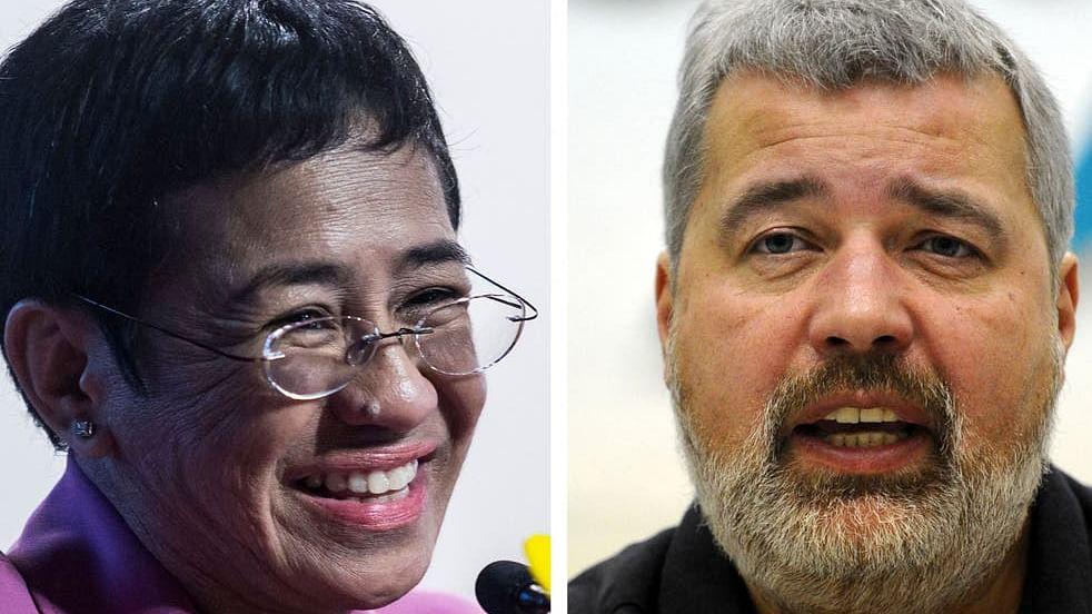 Journalists Maria Ressa, Dmitry Muratov win 2021 Nobel Peace Prize
