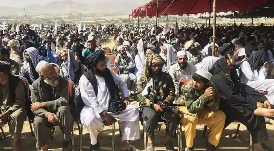 Nearly 1,000 Taliban militants rally in Kabul to show power and unity