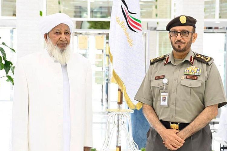 Grand Mufti of India Sheikh Abubakr Ahmad receives UAE's Golden Visa
