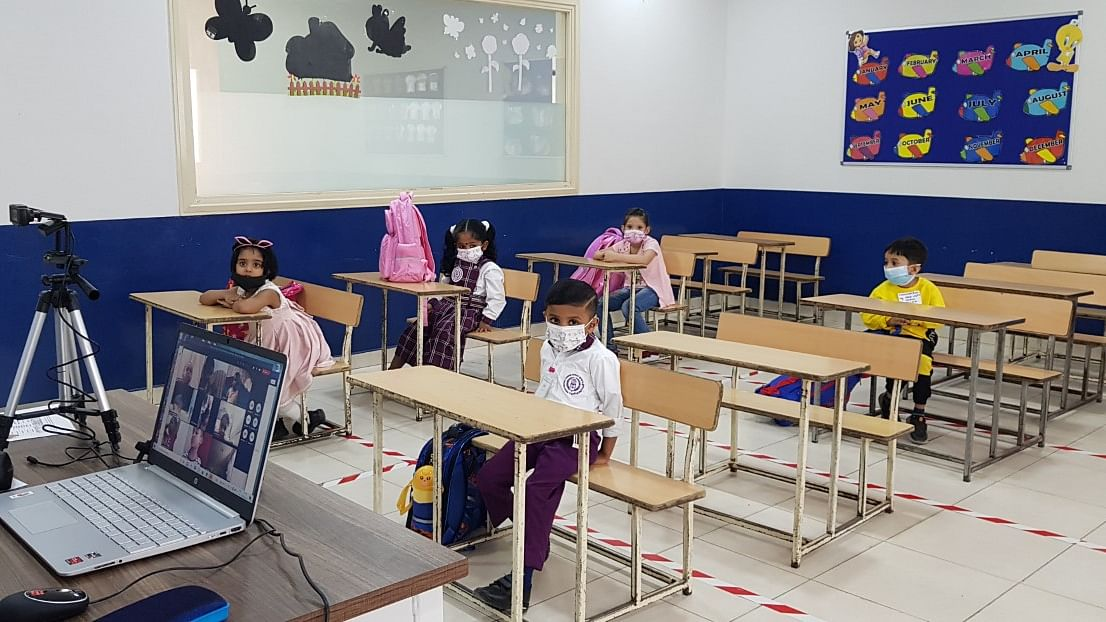 Indian Central School Welcomes Back Little Kindergarteners