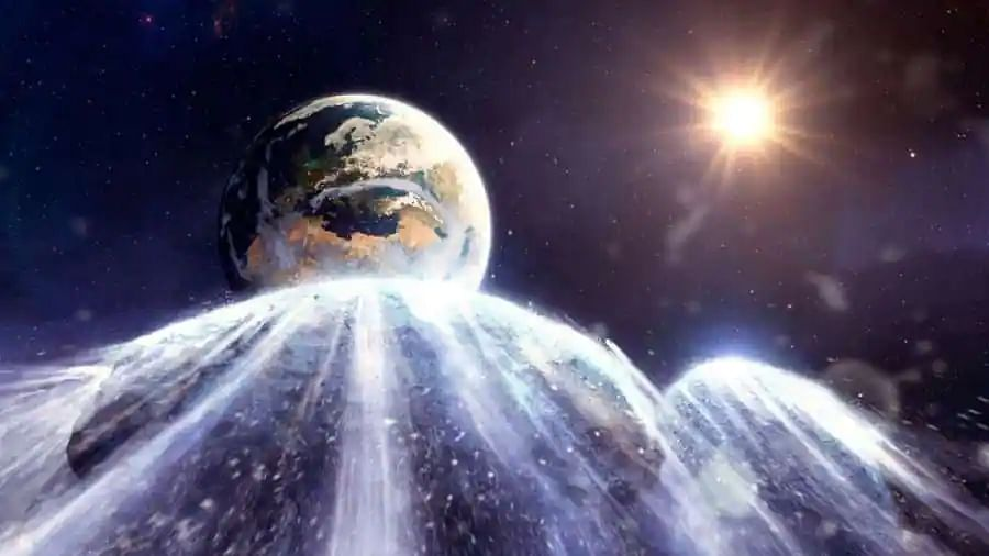 Oxygen sucking asteroids could have permanently altered Earth's atmosphere