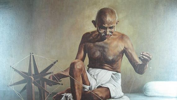 Gandhi Jayanti celebration at Bhavans SIS