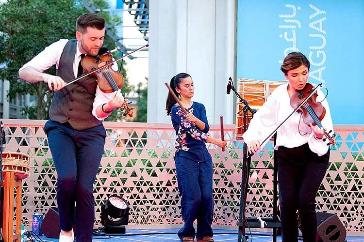 Expo 2020 Dubai visitors revel in Paraguayan music