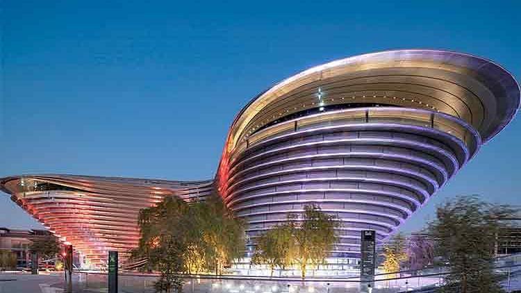 Expo 2020 Dubai unveils nine-metre-tall giants to honour Arab explorers