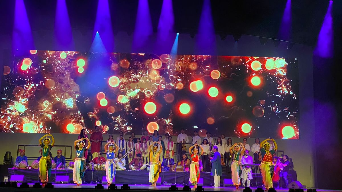 Indian pavilion opens at Expo 2020 Dubai with cultural performances