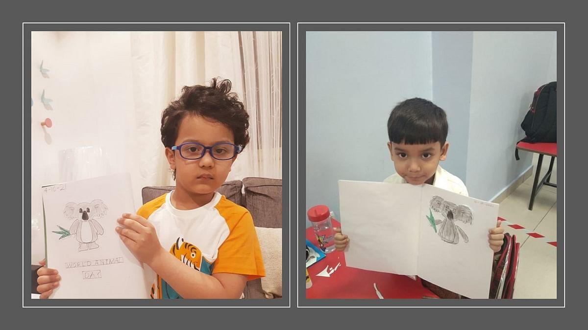 World Animal Day at Bhavans Smart Indian School
