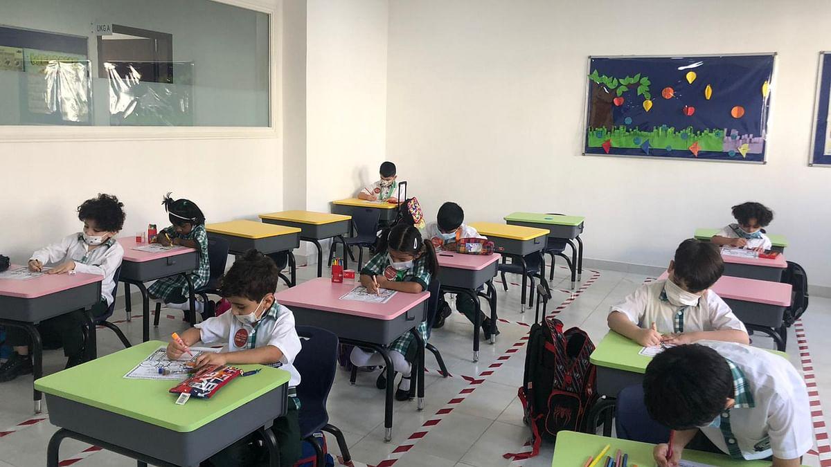 Aspire Indian International School First Day of School at Kindergarten