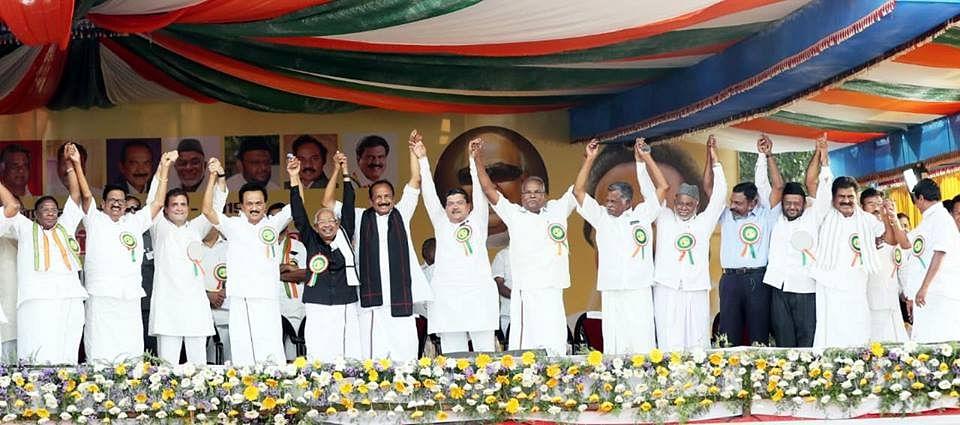 dmk congress alliance