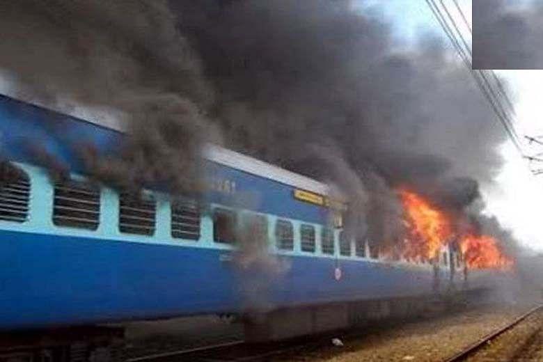 சம்ஜௌதா ரயில் குண்டுவெடிப்பு ; 4 பேர் விடுதலை