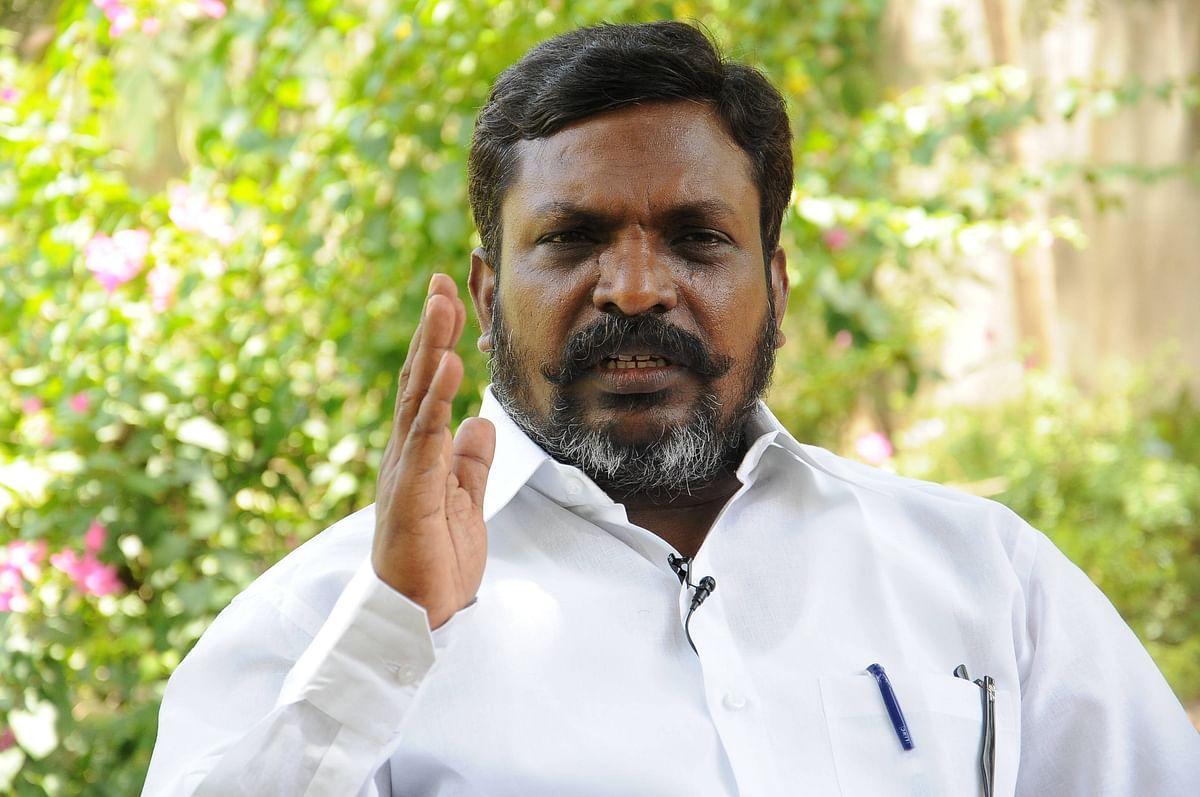 File image : Thirumavalavan