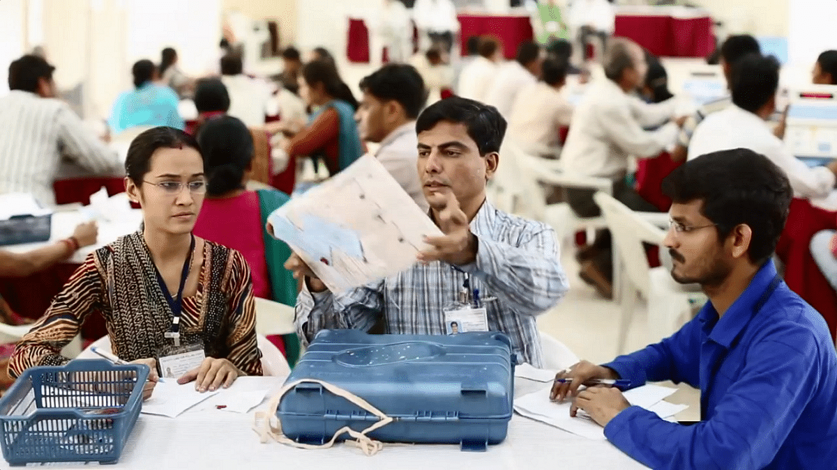 #LIVEupdates   டெல்லியில் மீண்டும் 'ஆம் ஆத்மி' ஆட்சி! - தேர்தல் முடிவுகள்