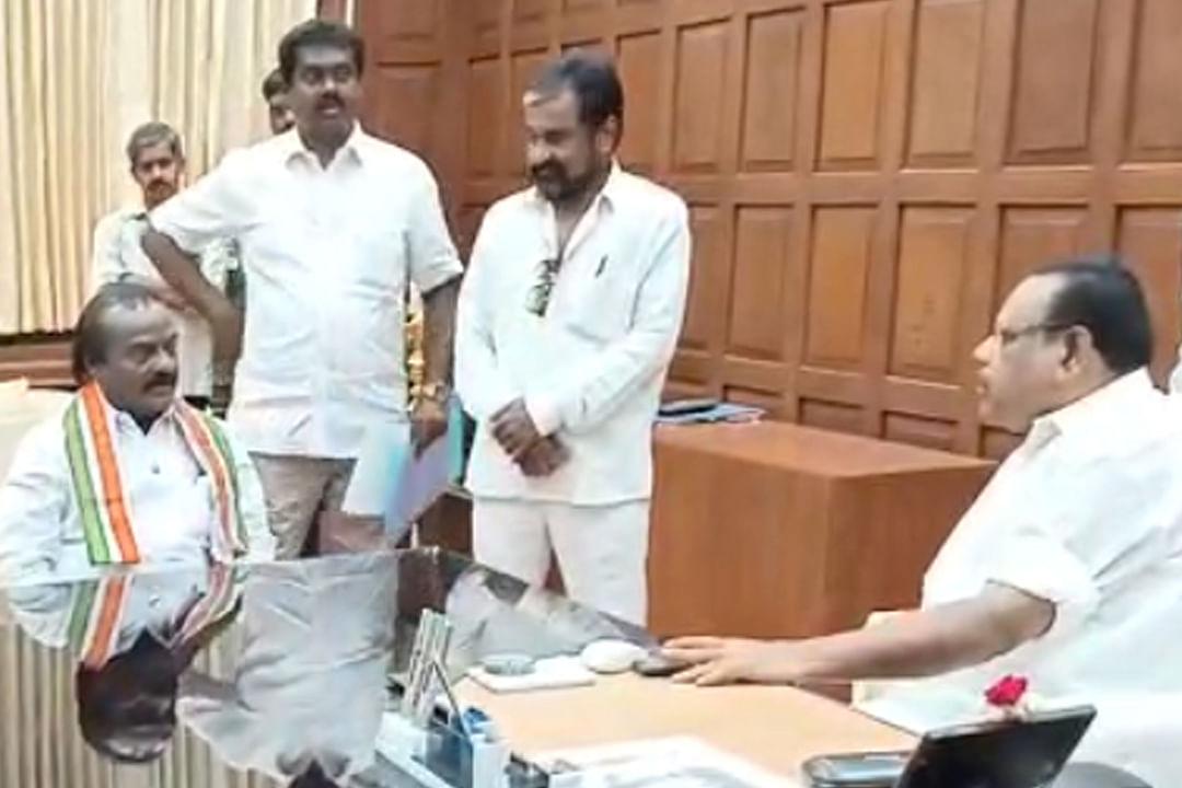 நாங்குநேரி தொகுதி எம்.எல்.ஏ பதவியை ராஜினாமா செய்தார் எச்.வசந்த்குமார்!