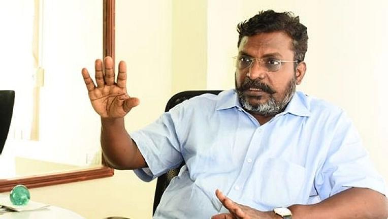 சத்யபிரதா சாஹூ தேர்தல் அதிகாரியாக நீடிப்பது சரியல்ல : திருமாவளவன்