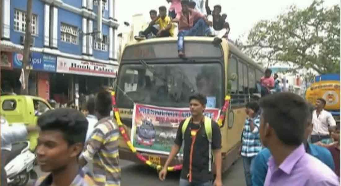 'பஸ் டே' விபத்து விவகாரம் : பேருந்தை இயக்கிய ஓட்டுநர், நடத்துனர் மீது நடவடிக்கை!