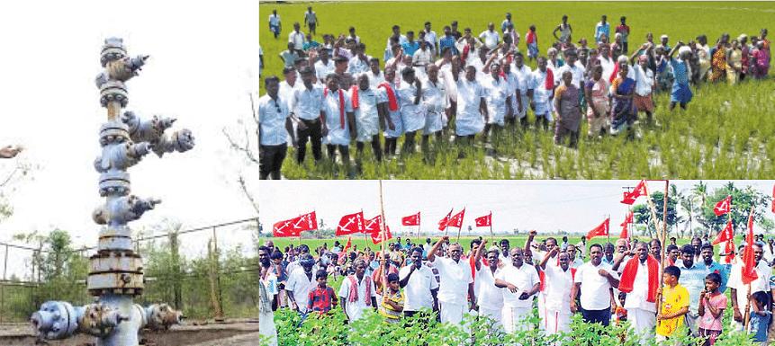 ஹைட்ரோ கார்பன் திட்டத்திற்கு எதிராக போராடிய 490 பேர் மீது வழக்கு: போலீசார் அராஜகம்!