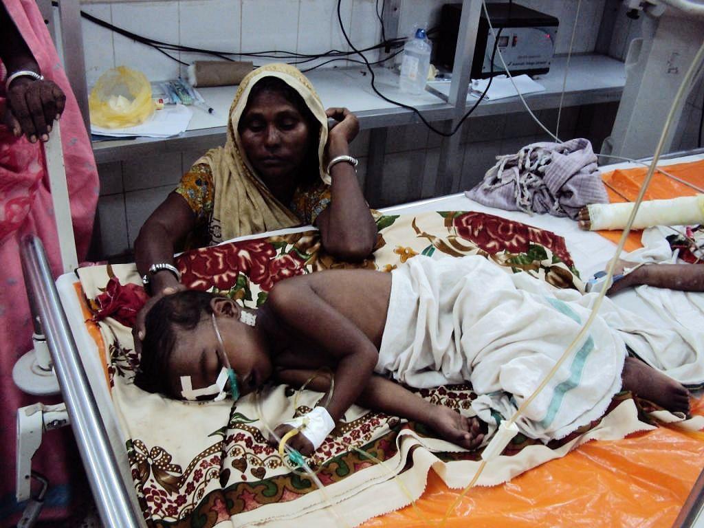 பீகாரை கலங்கடிக்கும் மூளை காய்ச்சல்: இதுவரை 80 குழந்தைகள் பரிதாப பலி!