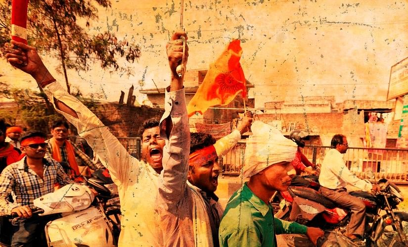'ஜெய் ஸ்ரீராம்' சொல்லுடா.. முஸ்லிம்கள் மீது கொலைவெறி தாக்குதல் நடத்திய இந்துத்வா கும்பல்