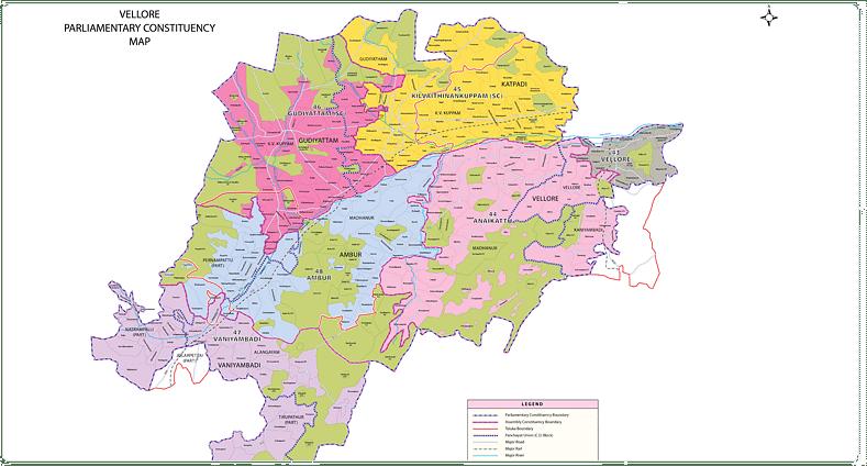 வேலூர் மக்களவைத் தொகுதிக்கான தேர்தல் தேதி அறிவிப்பு!