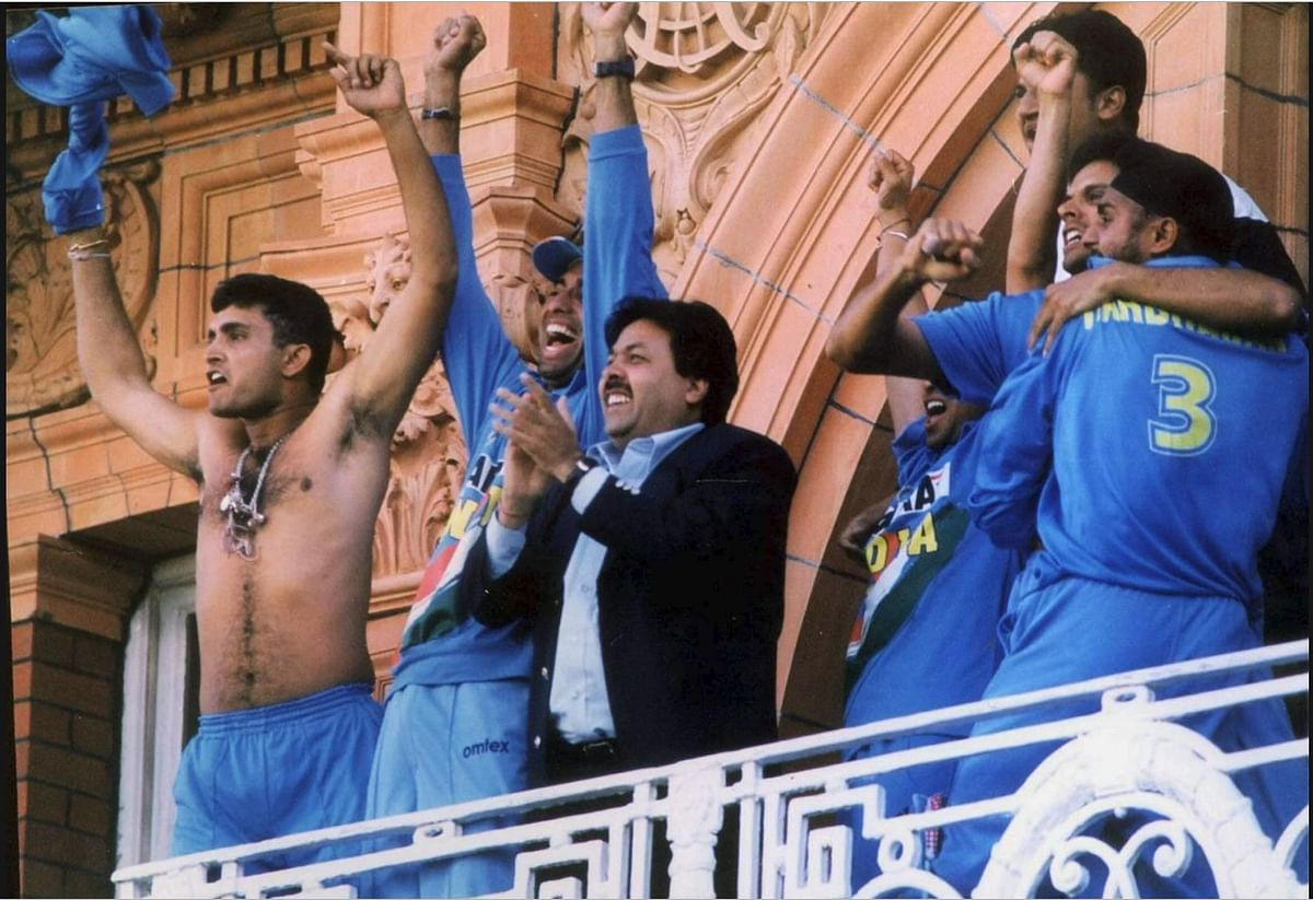 ganguly at lords