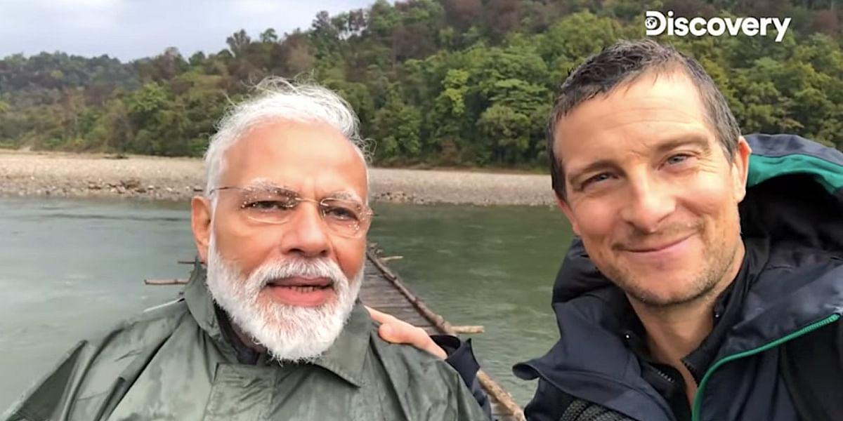 """""""நல்லா பார்த்தீங்களா ஜீ... அது முதலைதானா? """" : man vs wild மோடியை பங்கமாக கலாய்க்கும் நெட்டிசன்கள் !"""