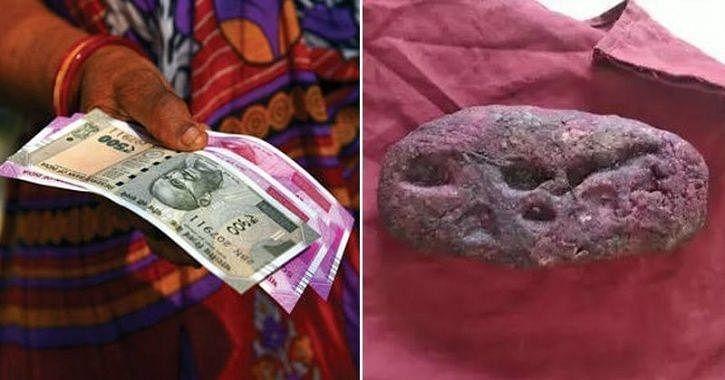 பிரசவ உதவித் தொகை பெறுவதற்காக கோதுமை மாவில் குழந்தை செய்து எடுத்து வந்த பெண் - அதிர்ச்சியடைந்த ஊழியர்கள்