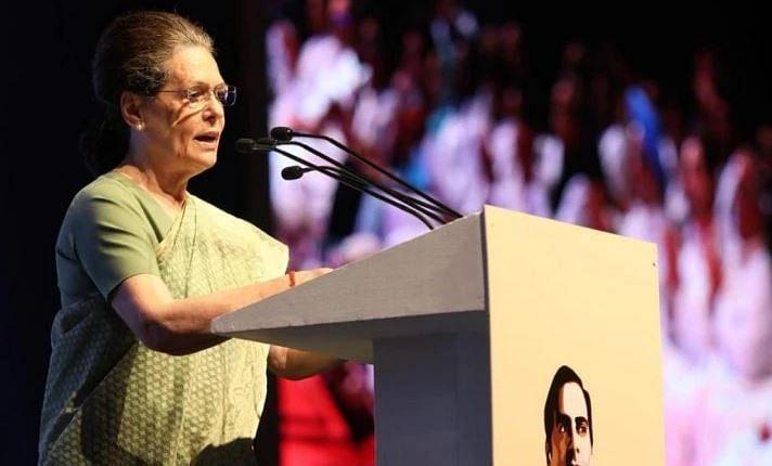 """""""ராஜீவும் பெரும்பான்மையுடன்தான் ஆட்சிக்கு வந்தார்; இதுபோல நாட்டை நாசம் செய்யவில்லை"""" : சோனியா  தாக்கு!"""