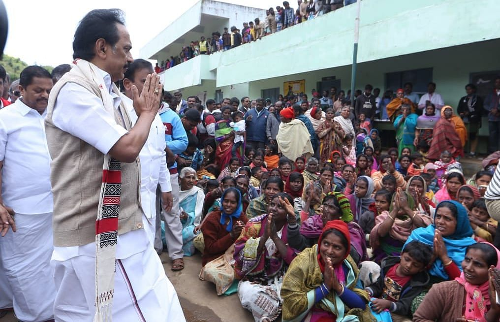 File : MK Stalin at Nilgiris