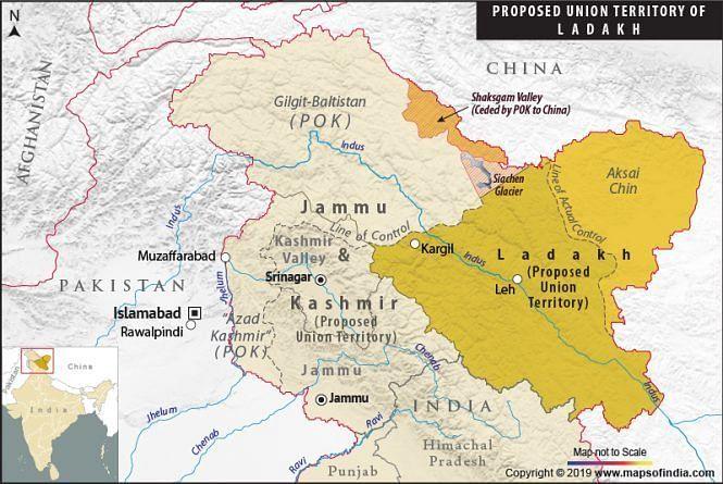 இந்தியா எச்சரிக்கையுடன் இருக்க வேண்டும் : லடாக்கை யூனியன் பிரதேசமாக்கியதற்கு சீனா எதிர்ப்பு