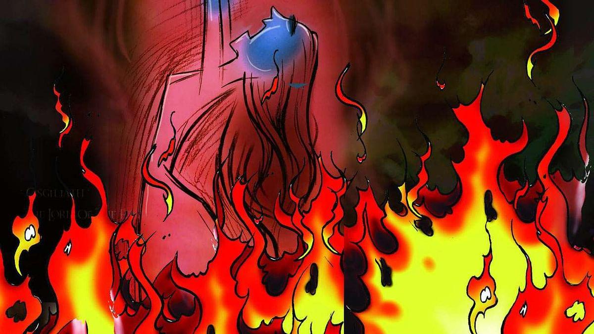 தாயையும் 3 மாதக் குழந்தையையும் எரித்துக் கொன்ற கணவன் வீட்டார் : வரதட்சணைக்காக நடந்த வெறிச்செயல்!