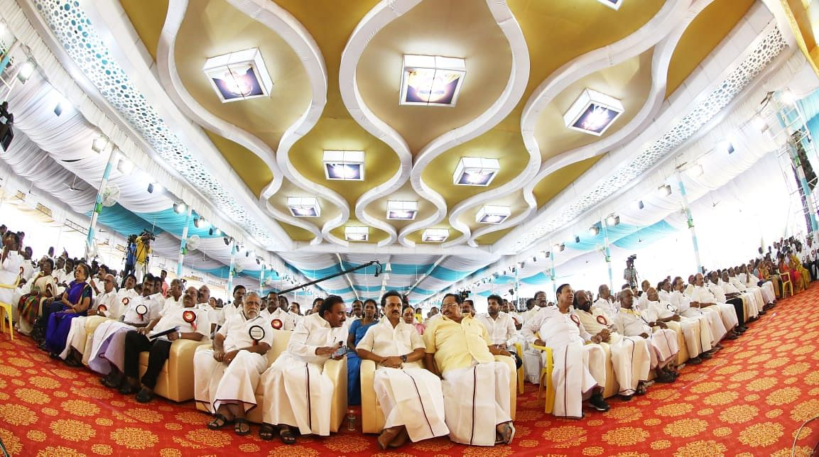 தி.மு.க முப்பெரும் விழா 2019 : அலைகடலென திரண்ட உடன்பிறப்புகள் !