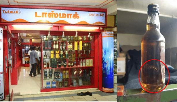 டாஸ்மாக் சரக்குல 'பல்லி': ஊட்டியில் குடிமகன்கள் அலறல்!