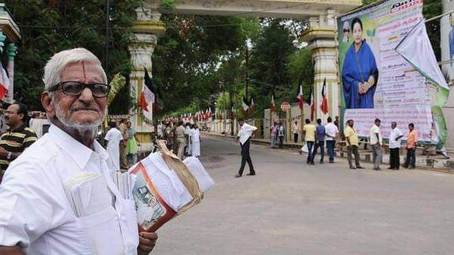 பேனர் விவகாரம் : சென்னை உயர்நீதிமன்றத்தின் உத்தரவுக்கு எதிராக டிராபிக் ராமசாமி மேல்முறையீடு!