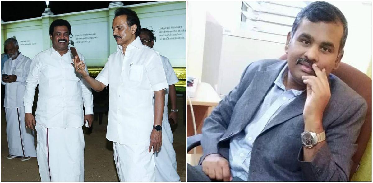 Dr.Sundaravadivalagan video call with DMK Chief