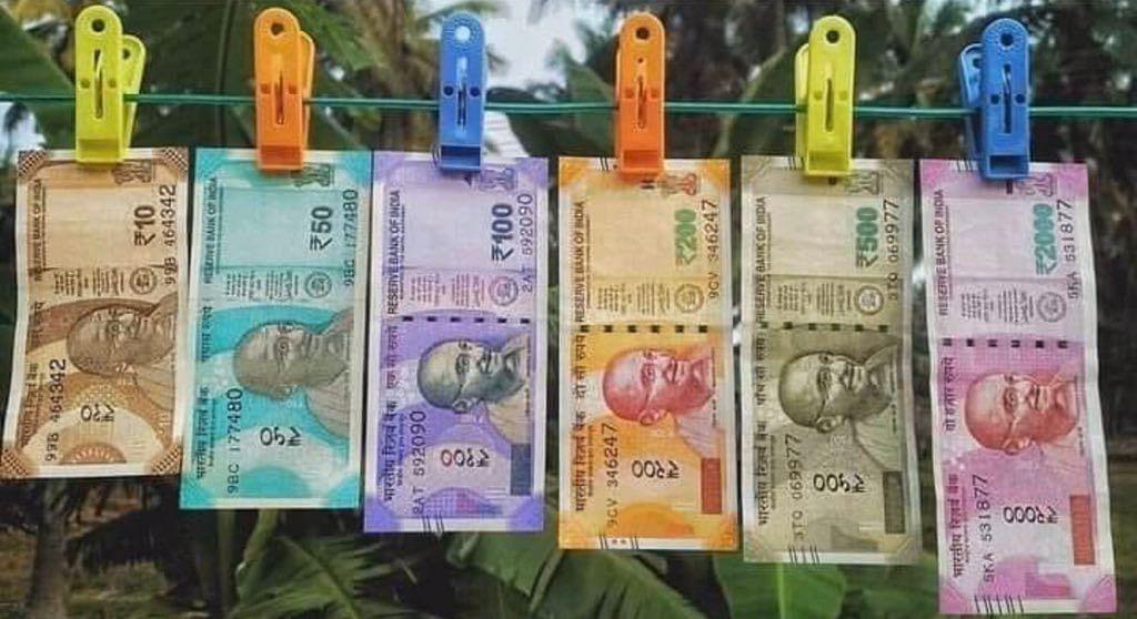 நானோ சிப், ஜி.பி.எஸ் ட்ராக்கர்...  2000 நோட்டு எனும் சர்வரோக நிவாரணி - பா.ஜ.க அள்ளிவிட்ட பொய்கள் !