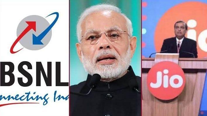 """""""BSNLக்கு கல்தா - 4G அலைக்கற்றையை ஏலத்தில் எடுத்த அம்பானியின் ஜியோ"""" : ரீசார்ஜ் கட்டணம் உயரும் அபாயம்!"""