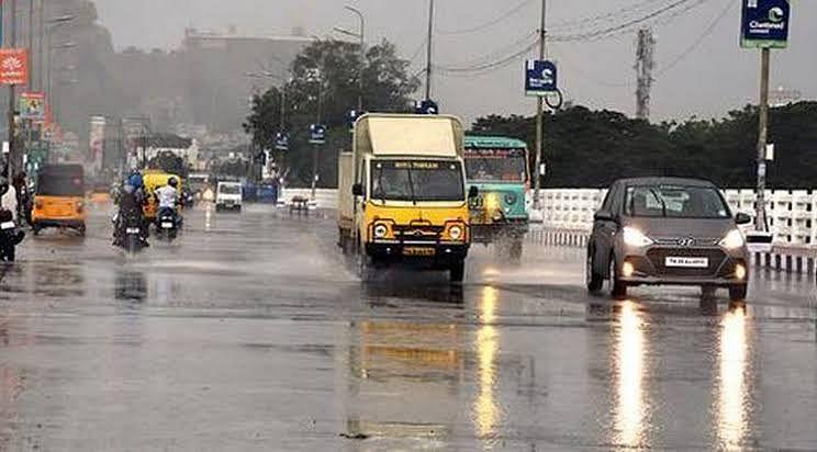 கடலோர & டெல்டா மாவட்டங்களில் கனமழைக்கு வாய்ப்பு - வானிலை மையம் தகவல்!