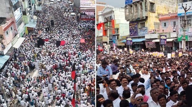 LIVE | தி.மு.க கண்டன ஆர்ப்பாட்டத்தில் மத்திய மாநில அரசுகளுக்கு எதிராக தமிழகம் முழுக்க ஒலித்த கோஷம்! #CAA
