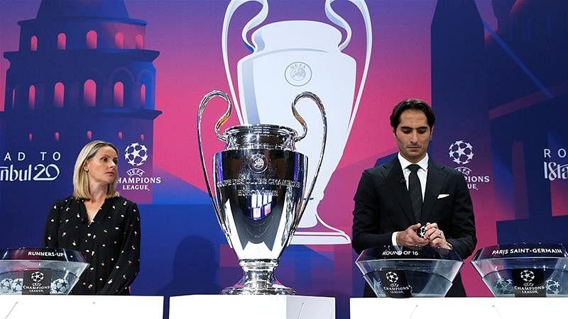 UEFA Champions League : யாருடன் யார் மோதுவது? - காலிறுதிக்கு முந்தைய சுற்று அட்டவணை வெளியீடு!