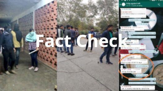 """""""அவங்கள இப்போ அடிக்கலனா எப்போ அடிக்கிறது?"""" - JNU வன்முறைக்கு முன் நடந்த 'பகீர்' உரையாடல்! #FactCheck"""
