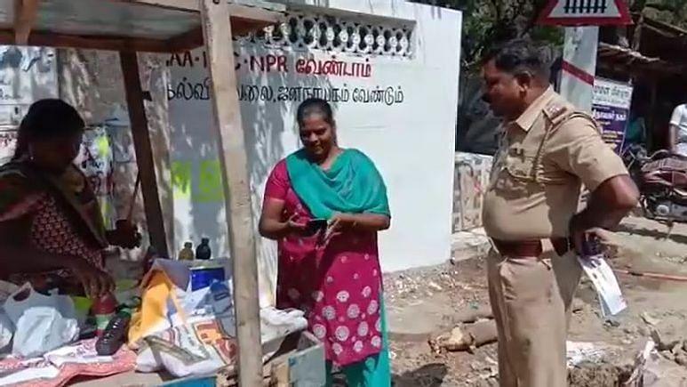 #CAA-வுக்கு எதிராக சுவரோவியம் வரைந்த 2 பெண்கள் கைது - அடக்குமுறையைக் கையாளும் எடப்பாடி அரசு!