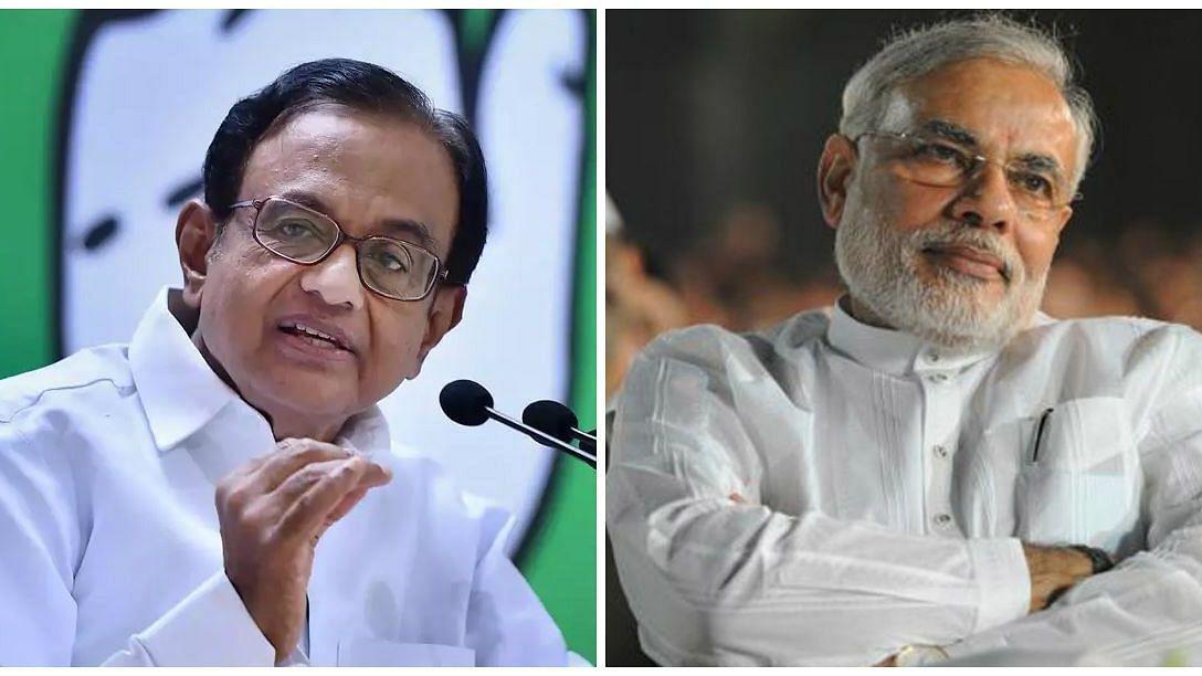 P Chidambaram - Modi