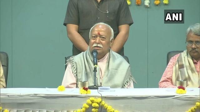 """""""அதிகம் படித்ததால்தான் விவாகரத்து அதிகரித்துள்ளது"""" - RSS தலைவர் மோகன் பகவத் ஆணவ பேச்சுக்கு நடிகை கண்டனம்!"""